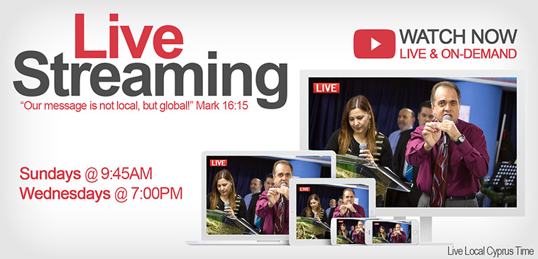 Watch our Church Services Live or On-Demand