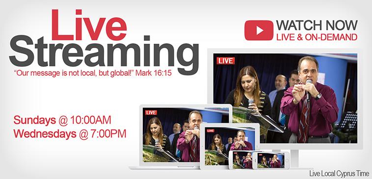 Apostolic Church of Jesus Christ Online Live Streaming Schedule Cyprus