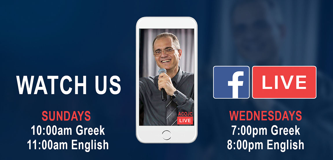 Facebook Live Church Broadcasts from Limassol Cyprus