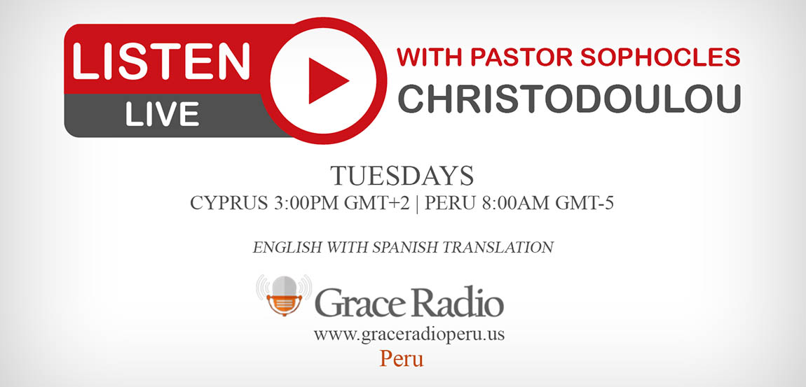 Christian Live Radio from Peru with Guest Pastor Sophocles Christodoulou