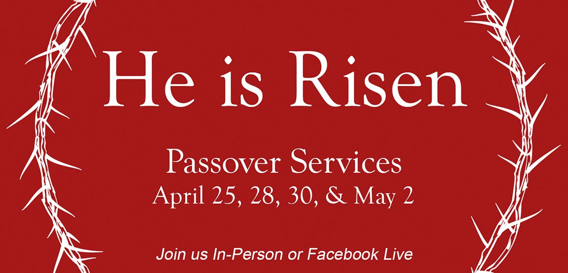 Passover Church Services 2021