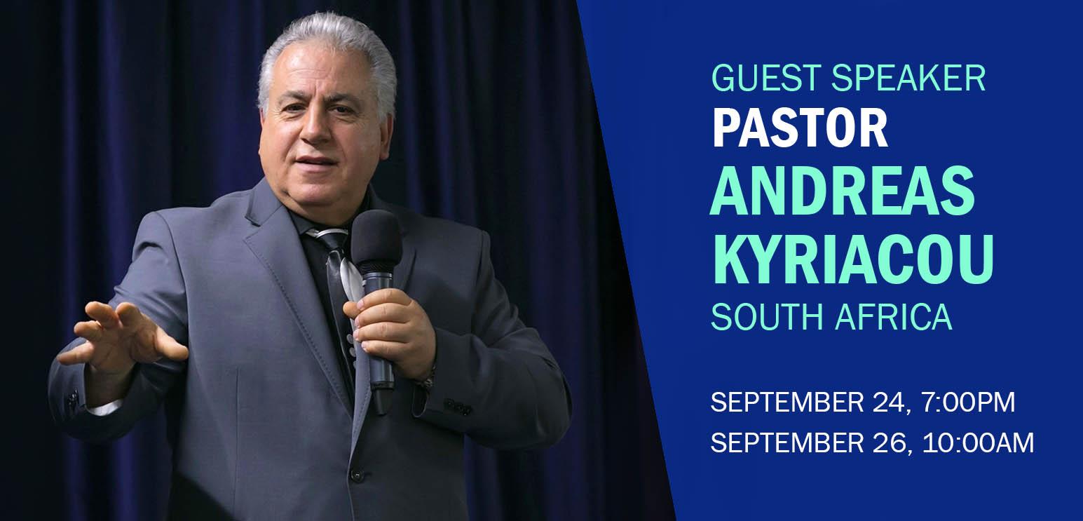 Pastor Andreas Kyriacou